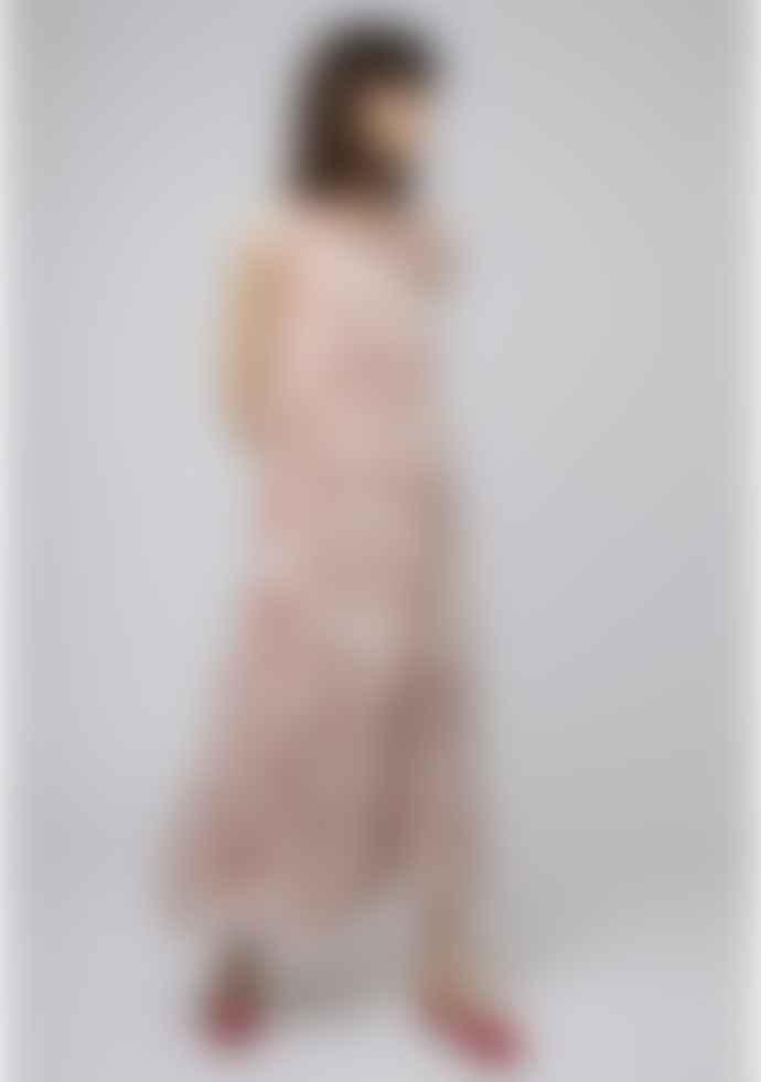 Compania Fantastica Geometric Circle Print Dress