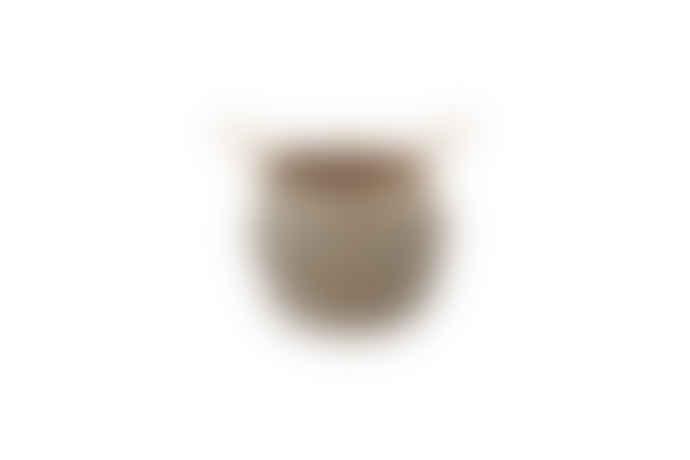 Nkuku Small Black & Natural Woven Basket