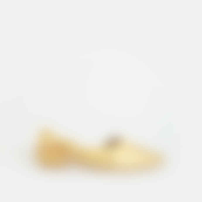 New Lovers Gold Leather Sussie Slippers