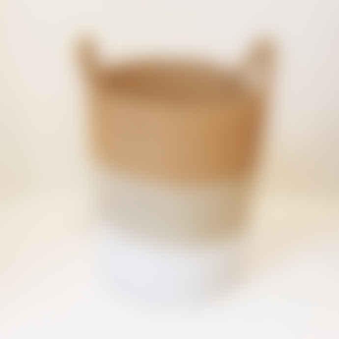 MaheHomeware Medium Natural Marine Basket