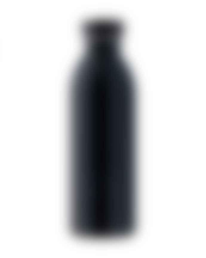 24Bottles 0.5L Tuxedo Black Satin Finish Urban Bottle