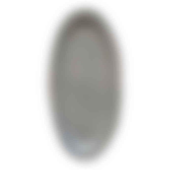 Biggie Best Stoneware Oval Serving Plate