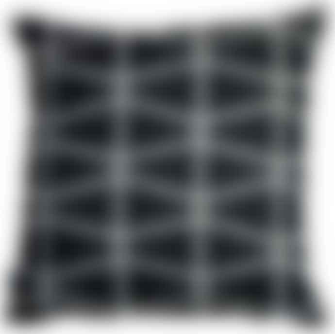 Spira Black Fasett Cushion Cover