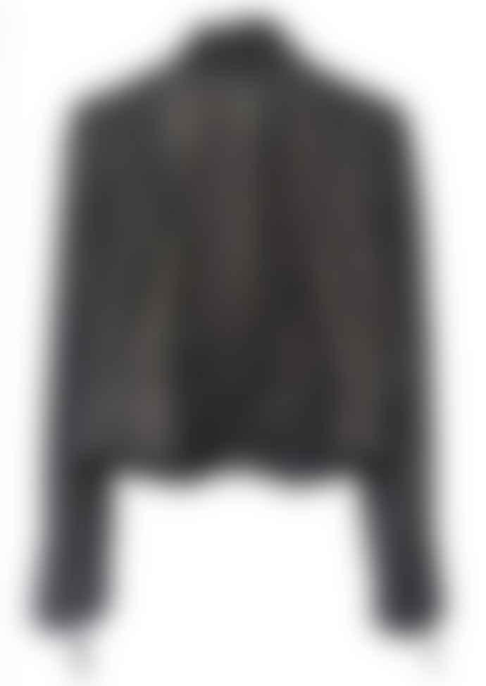MDK Black Rucy Leather Jacket