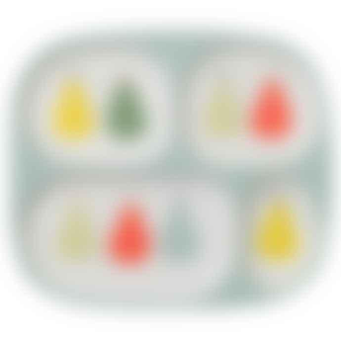 Petit Jour Pear Childrens Divider Plate