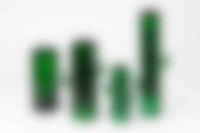 DOIY Design Green Saguaro Long Drink Glasses