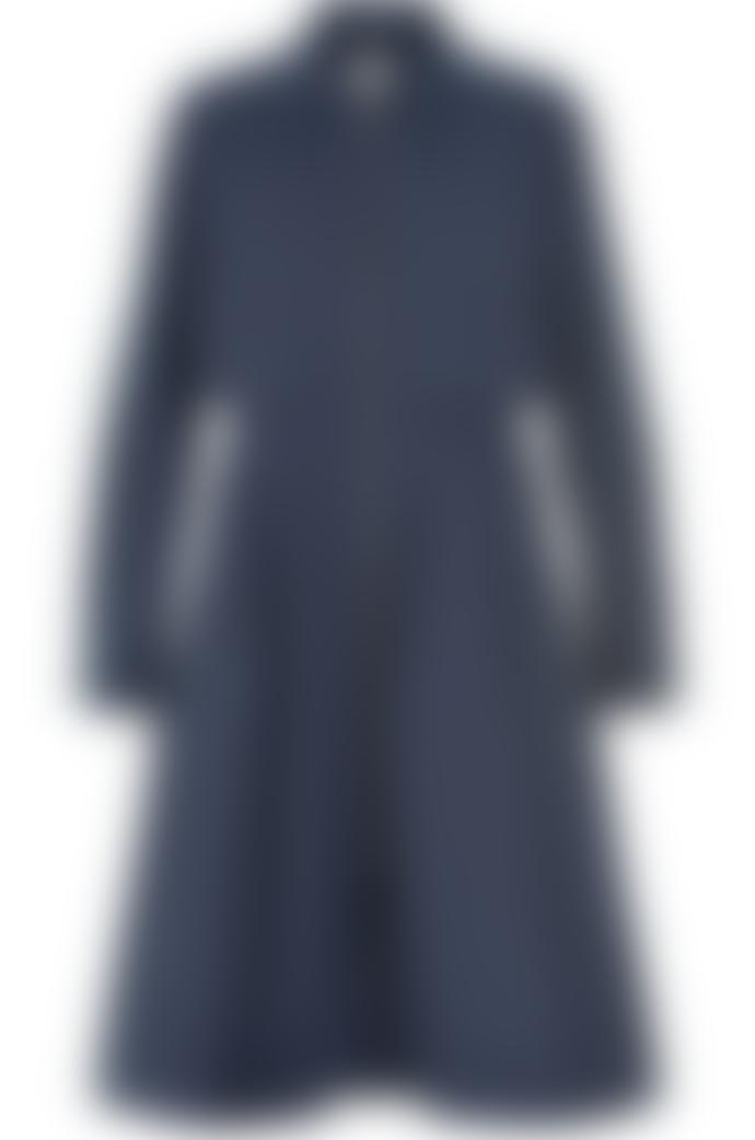 Numph Navy Jedda Coat