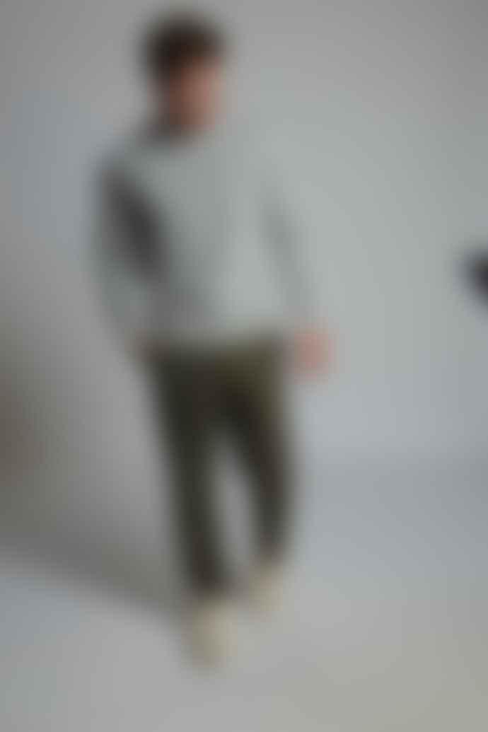 Hymn London 'REX 2' T-Rex Embroidered Grey Sweatshirt