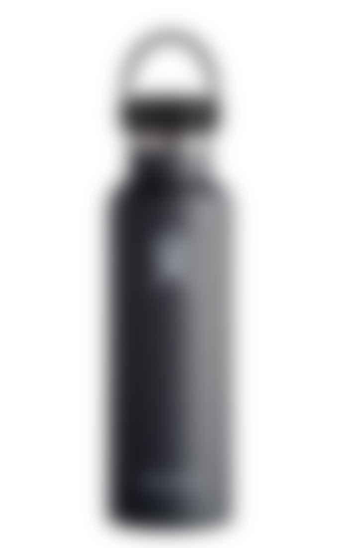 Hydro Flask 21oz Black Bottle