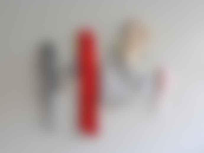 Kolor Set Of 3 White Line Hooks
