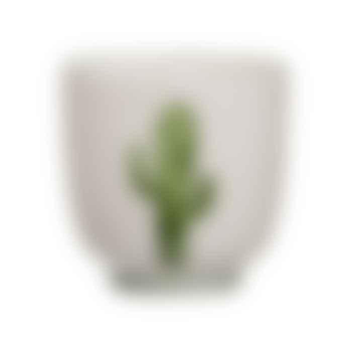 Bloomingville Small Green Cactus Jade Cup