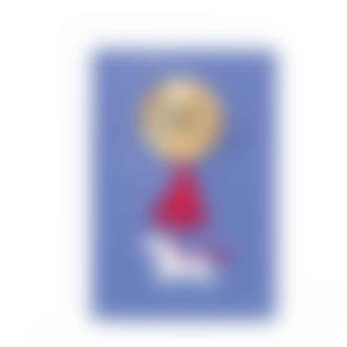 Hotpotch Yay Unicorn Mirrored Badge Card