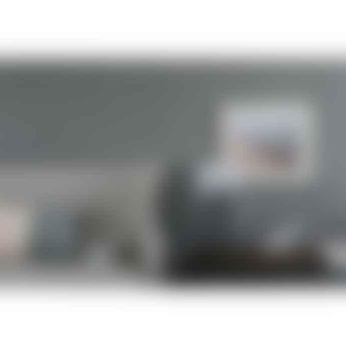 UMAGE Mini Misty Grey Carmina Shade With Black Tripod Table Lamp