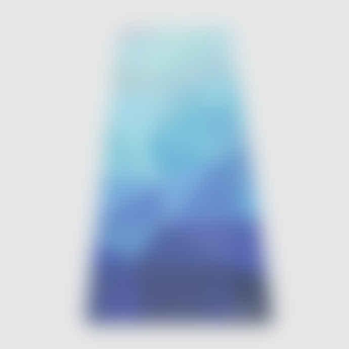 Yoga Design Lab Yoga Mat Combo Geo Blue Premium Eco-friendly