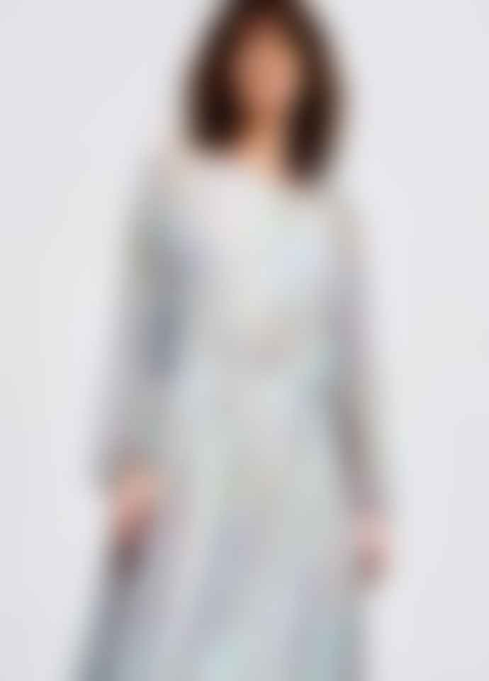 Essentiel Antwerp Shayna Mulitcoloured Dotted Silk Midi Dress