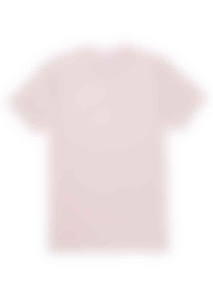 Sunspel Organic Riviera Tee - Pale Pink