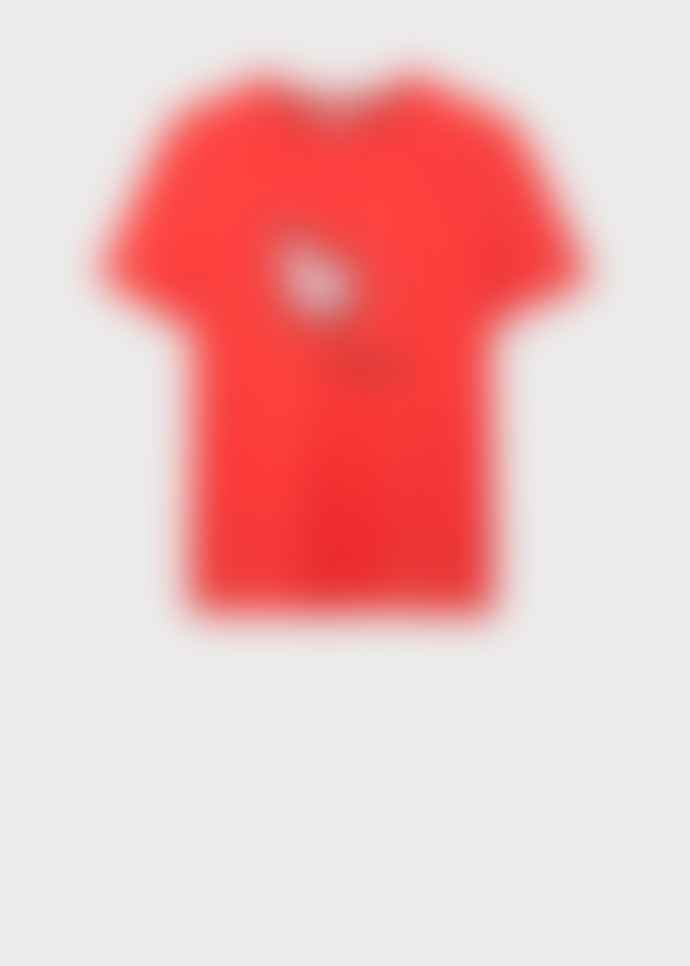 PS by Paul Smith Red Year of the Pig Print Tshirt