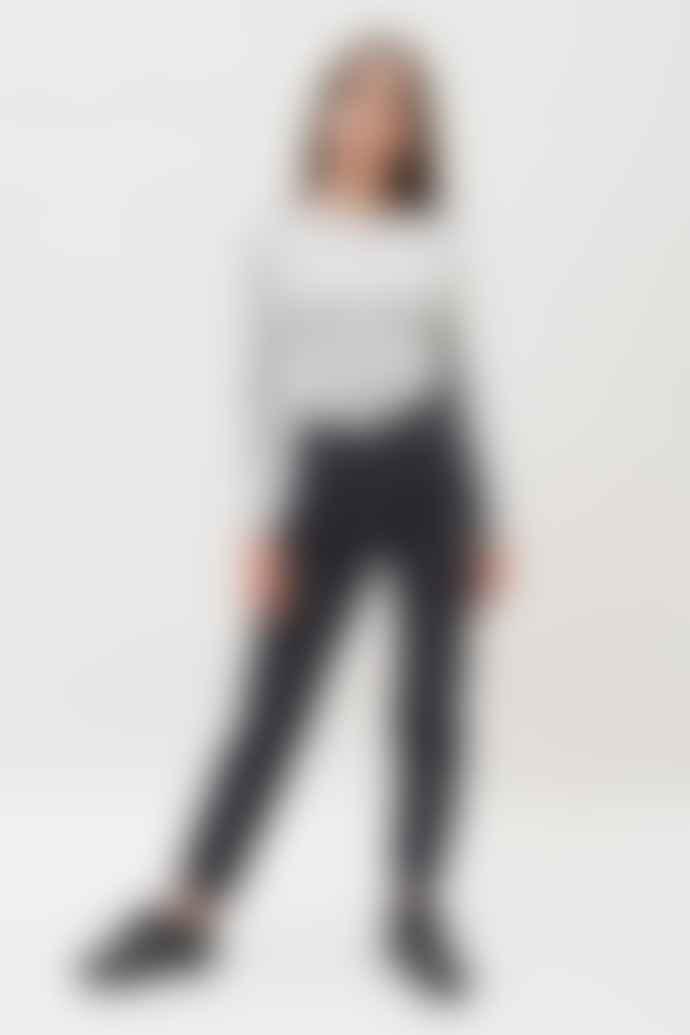 Dr Denim Black Nora Retro Jeans