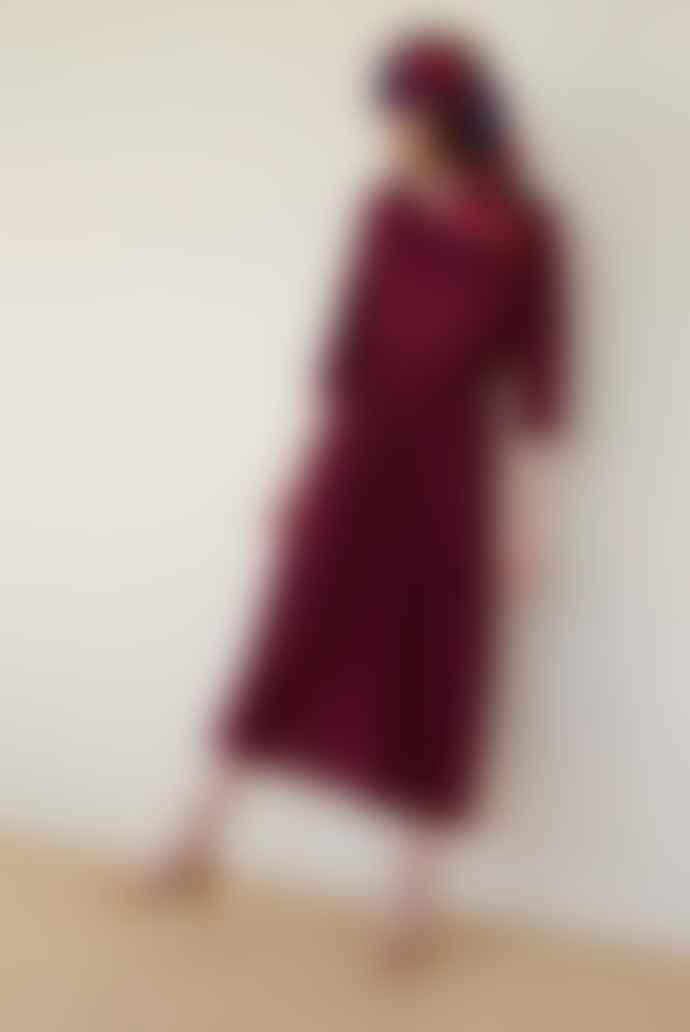 Des Petits Hauts Josalina Myrtille Dress