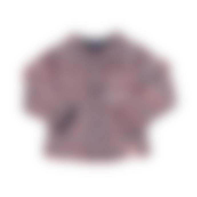 bonjour maurice Kids Organic Cotton & Reversible Tricolour Cardigan