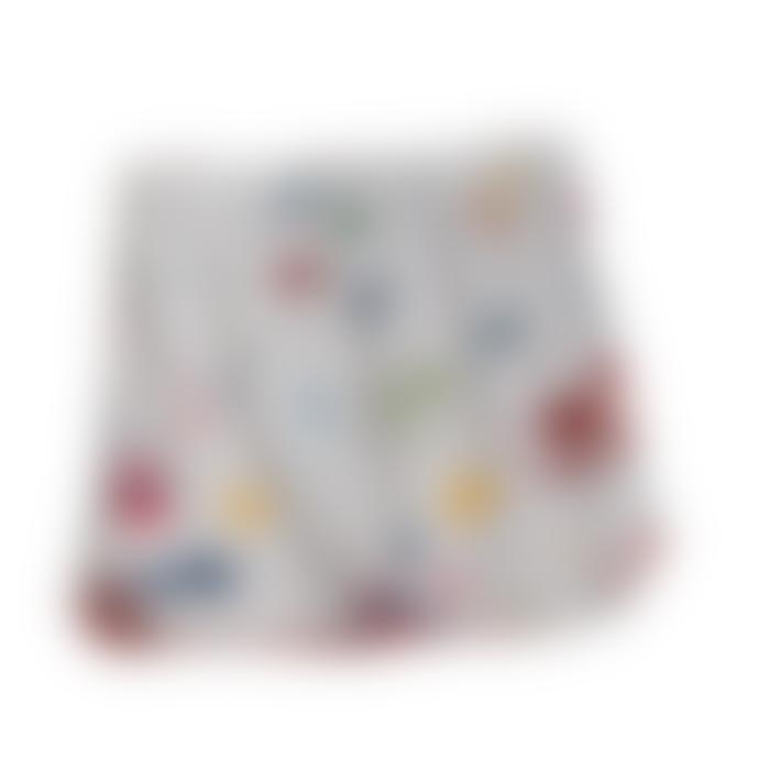 bonjour maurice Kids Organic Cotton & Reversible Straight Skirt
