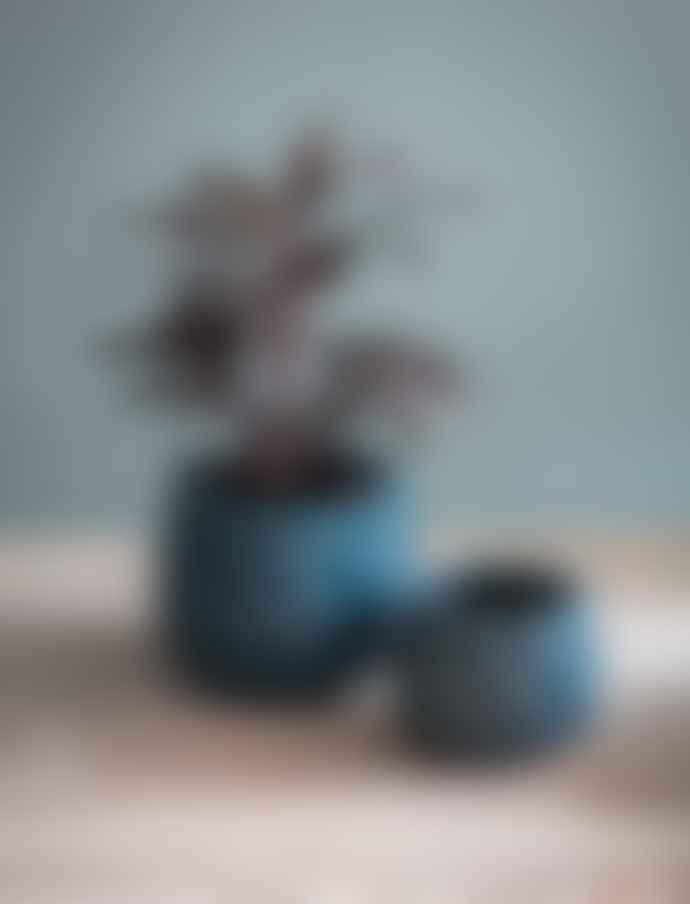 Garden Trading Large Teal Artichoke Plant Pot