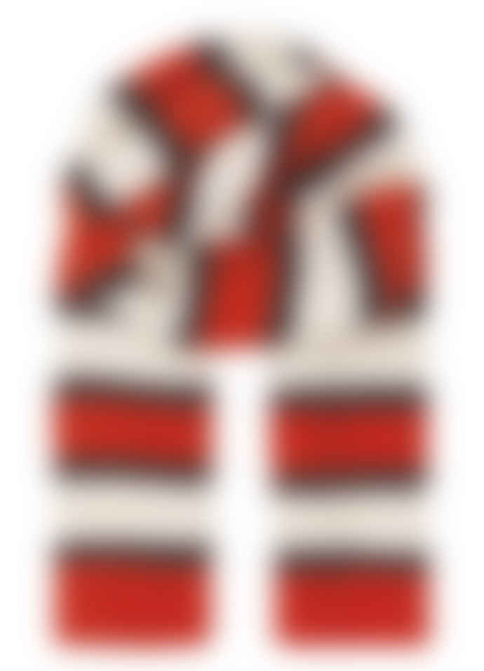 Becksondergaard Red Love Gloria Stripes Scarf