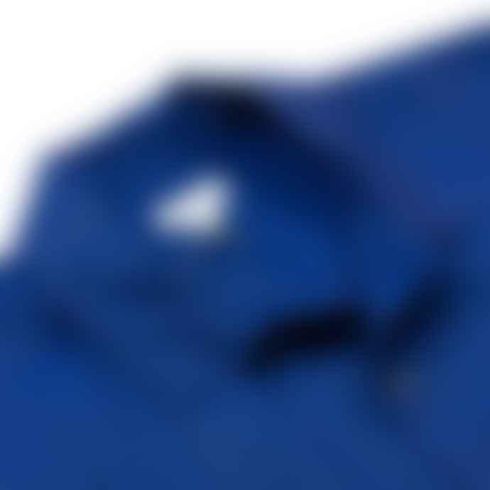 Sunspel Short Sleeve Leisure Shirt Dark Indigo