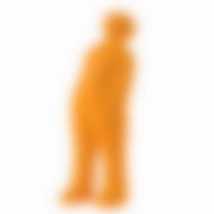 CORES DA TERRA The Visitor Small Cremic Sculpture - 43 Orange Acafrao Clear