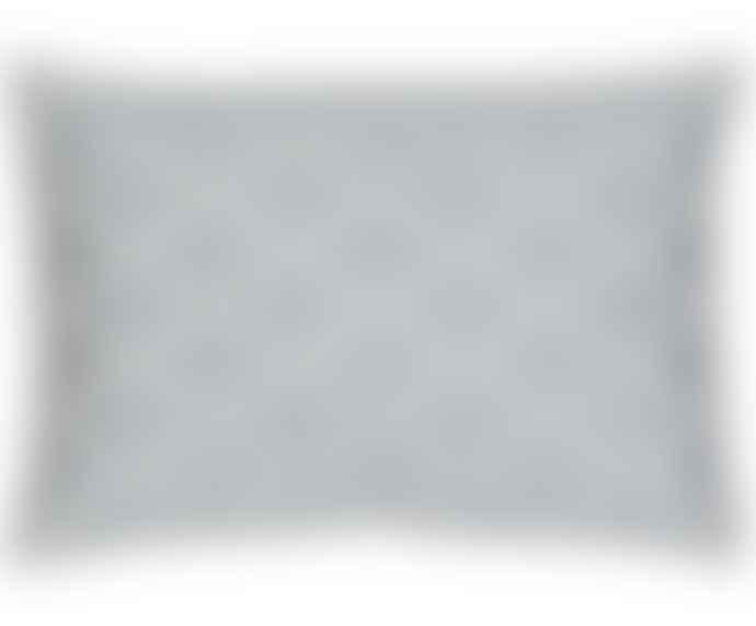 Bombay Duck Grey Timbuktu Diamond Embroidered Cushion