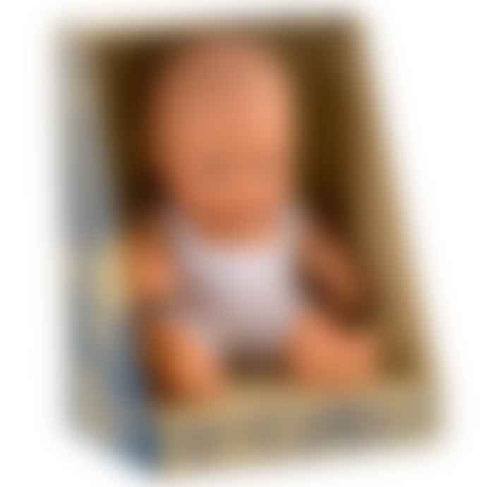 Miniland Baby Doll Caucasian Girl 21 Cm