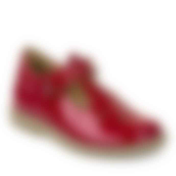 Froddo Red T Bar Shoes