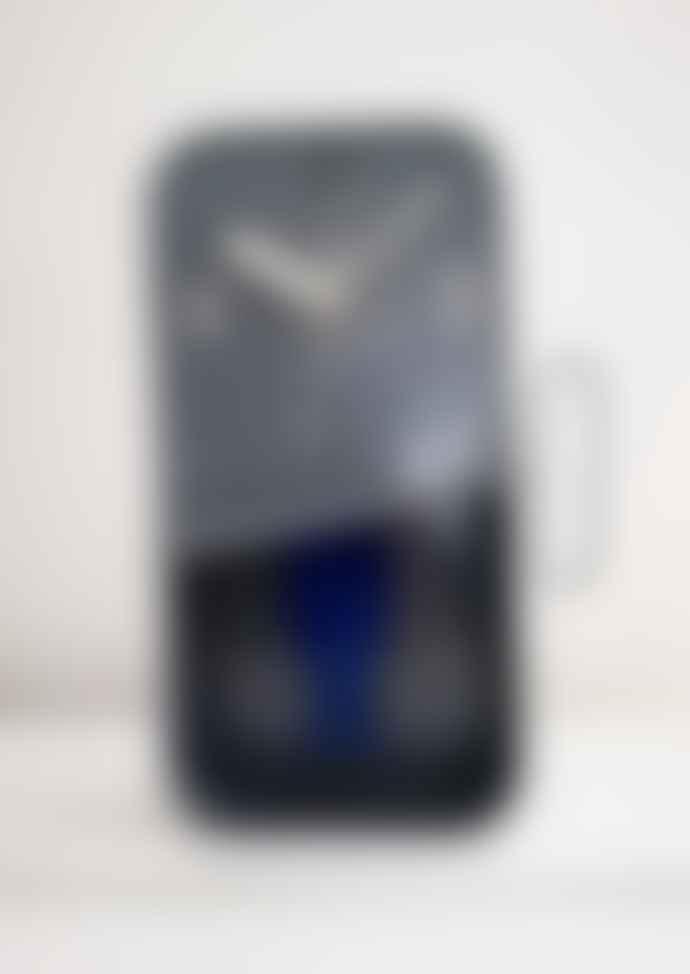 Grey Sardine Clock