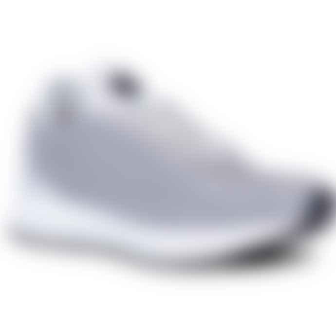 Woden Thea Mesh Grey Organic Sneakers