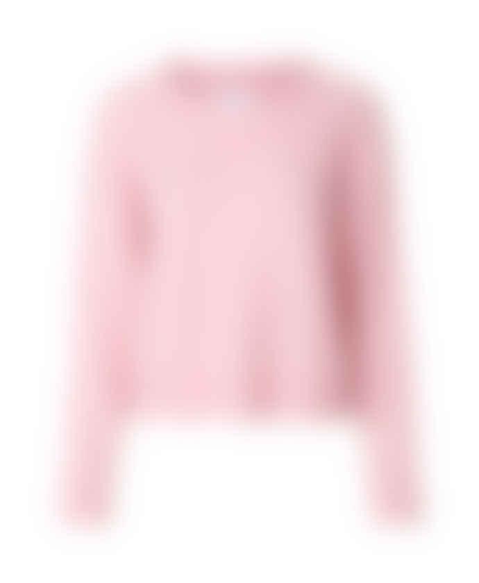 Samsoe & Samsoe Pink Lady Mel Nor O Neck Knit Sweater
