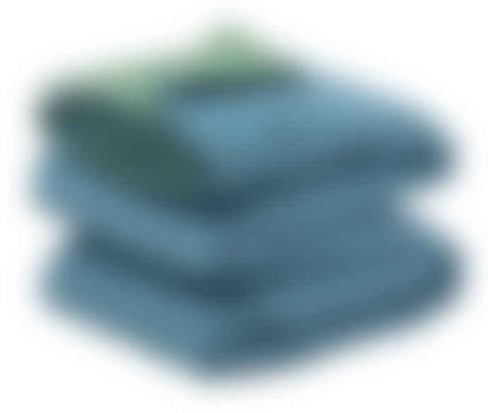 Wallace Cotton Medium Peacock Matapouri Reversible Bedspread Blanket