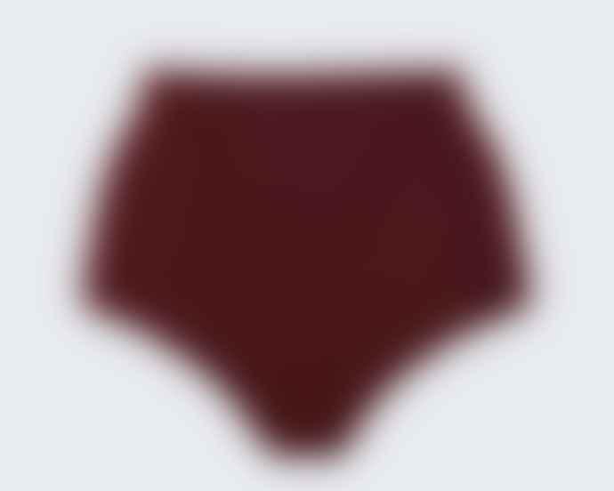 Anecdote Merlot Core High Bikini Bottom