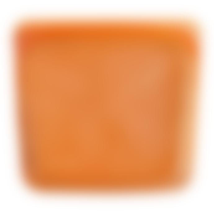 Stasher Medium Citrus Reusable Silicone Sandwich Bag