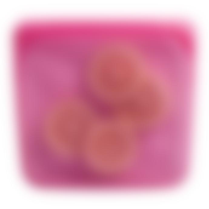 Stasher Medium Raspberry Reusable Silicone Sandwich Bag