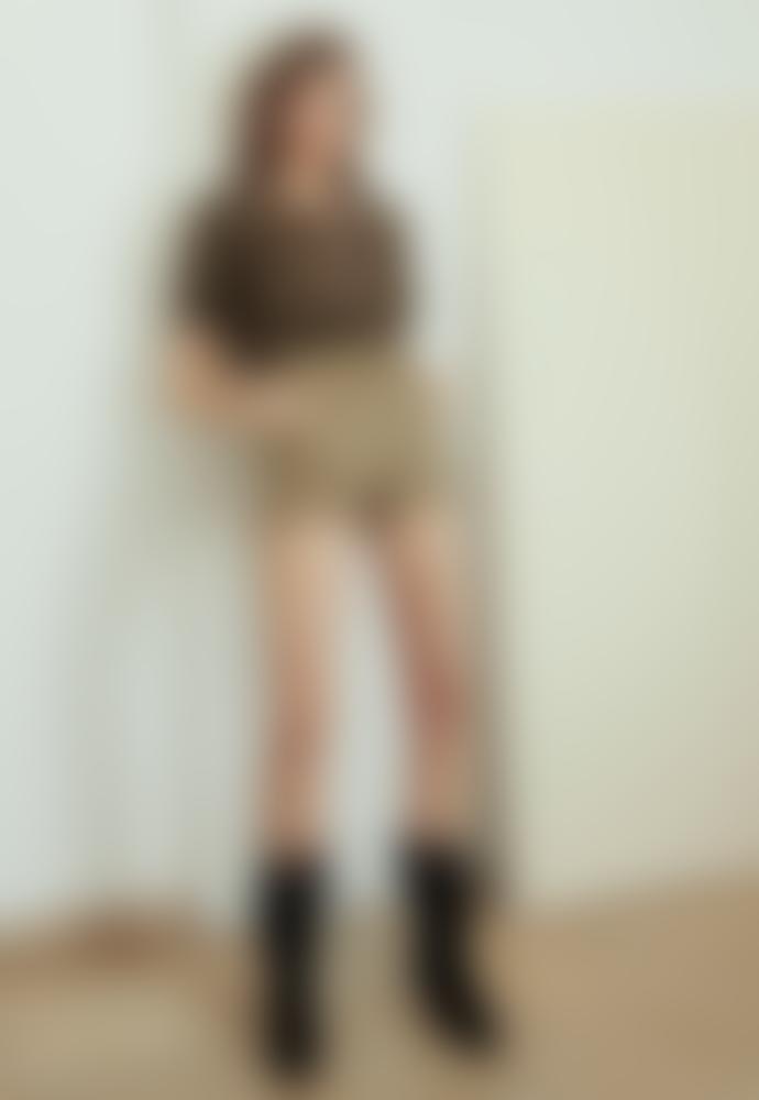 BA&SH Khaki Alek Shorts