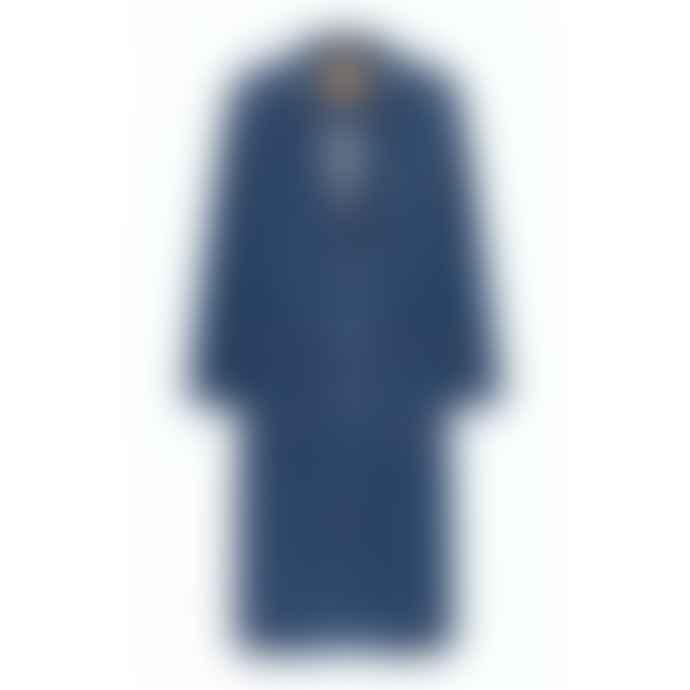 American Vintage Ozistate Denim Coat Dark Blue