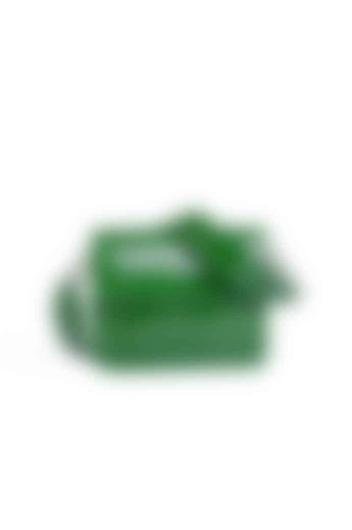 Hvisk Green Cayman Rectangle Crocodile Print Bag
