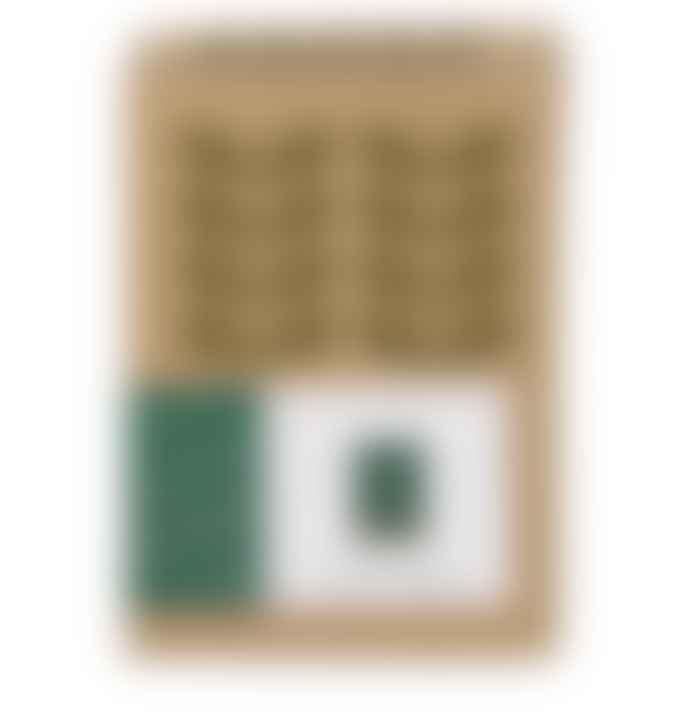 Orla Kiely Small Green Orla Kiely Ceramic Linear Steam Lantern