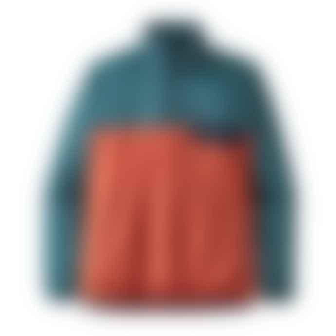 Patagonia Houdini Snap-T Pullover - Sunset Orange