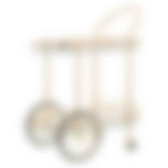 rice Gold Cocktail Cart