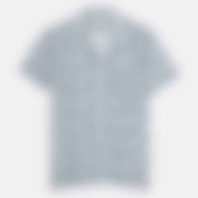 Far Afield Epik Blue Selleck S S Shirt