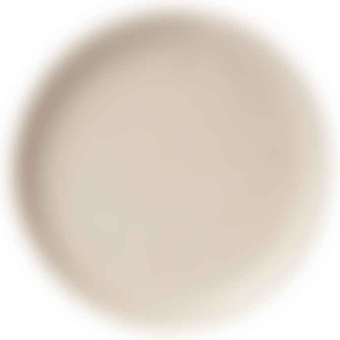 Erika Petersdotter Vanilla Thrown Dinner Plate