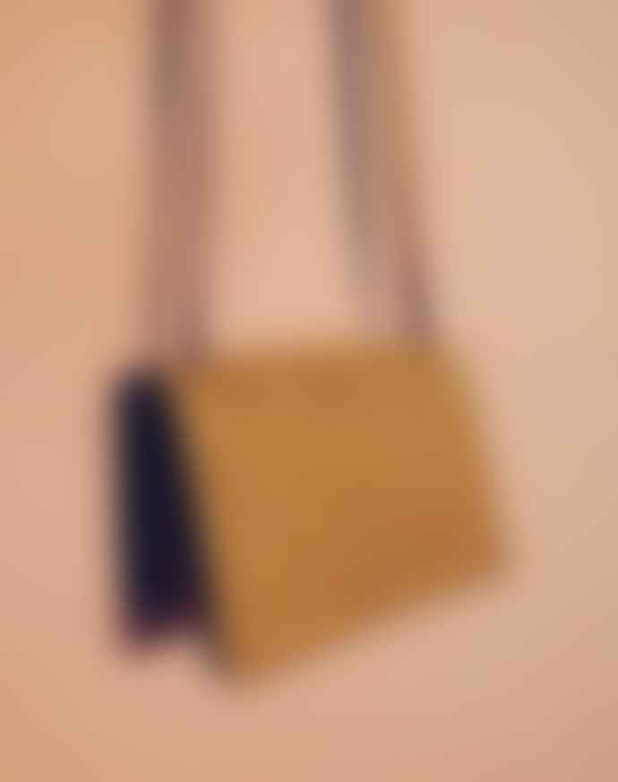 Neuville Yellow Suede Chili Bag