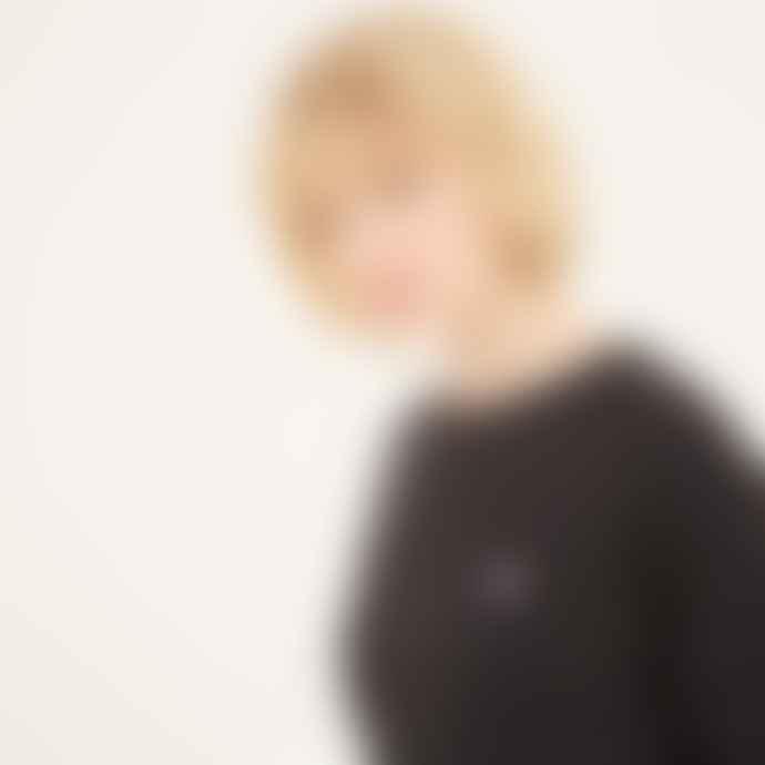 Maison Kitsune Black Raglan Sweatshirt