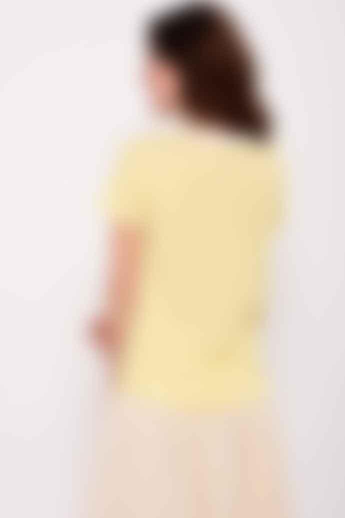 Leon & Harper Yellow Striped Toro Palmier T Shirt